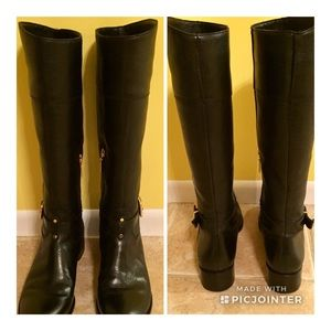 EUC! Banana Republic Black Leather Riding Boots